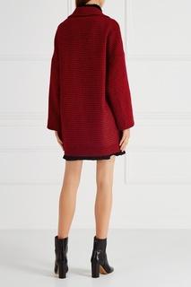 Шерстяное пальто RED Valentino