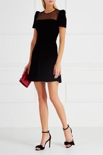 Бархатное платье RED Valentino