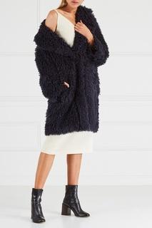 Пальто из фактурной ткани Chapurin