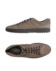 Низкие кеды и кроссовки Tod`S