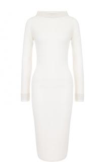 Шерстяное облегающее платье Cruciani