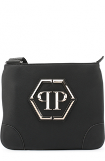 Сумка-планшет с внешним карманом на молнии Philipp Plein