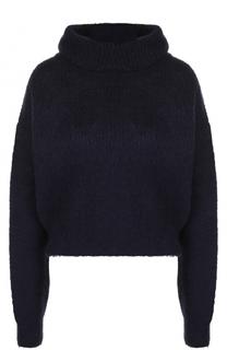 Укороченные вязаный свитер с высоким воротником Carven