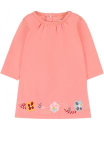 Хлопковое платье с вышивкой Chloé