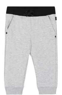Хлопковые брюки с контрастной отделкой Givenchy