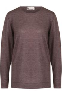 Пуловер из смеси шерсти и кашемира с круглым вырезом Colombo