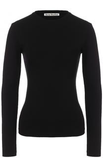 Облегающий пуловер с круглым вырезом Acne Studios