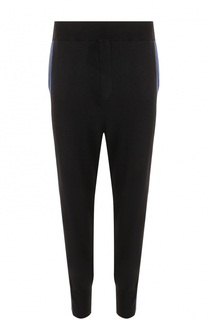 Шерстяные брюки с манжетами на резинке Stella McCartney