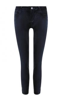 Укороченные бархатные джинсы-скинни Paige