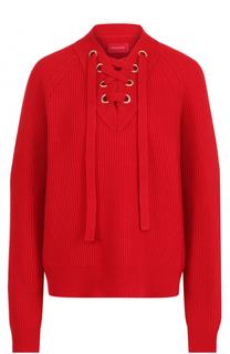 Пуловер из смеси шерсти и кашемира со шнуровкой Zadig&Voltaire Zadig&Voltaire
