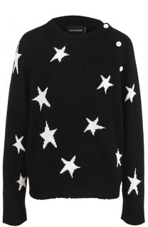 Кашемировый пуловер с принтом в виде звезд Zadig&Voltaire Zadig&Voltaire