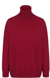 Шерстяной свитер свободного кроя с высоким воротником Dries Van Noten