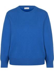 Шерстяной пуловер с круглым вырезом Dries Van Noten