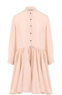 Шелковое платье-рубашка с укороченным рукавом Zadig&Voltaire Zadig&Voltaire