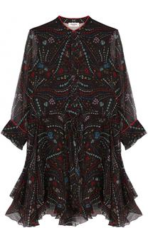 Шелковое платье-рубашка с принтом Zadig&Voltaire Zadig&Voltaire