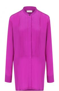 Шелковая блуза свободного кроя Dries Van Noten