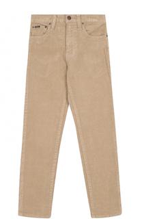 Вельветовые джинсы прямого кроя Polo Ralph Lauren