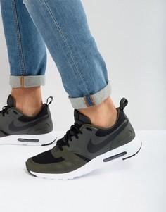 Черные кроссовки Nike Air Max Vision 918230-002 - Черный