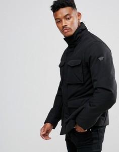 Черная куртка с четырьмя карманами Armani Jeans - Черный