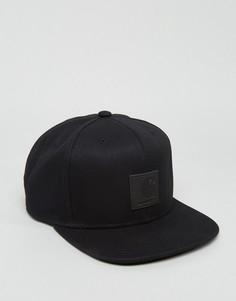 6-панельная кепка с логотипом Carhartt WIP - Черный