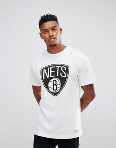 Футболка Mitchell & Ness NBA Brooklyn Nets - Белый