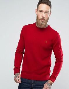Джемпер из овечьей шерсти Farah Rosecroft - Красный