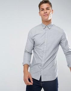 Узкая хлопковая рубашка Selected Homme - Оранжевый