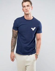 Футболка с логотипом-аппликацией Voi Jeans - Синий