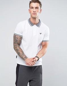 Футболка-поло с контрастным воротником Voi Jeans - Белый