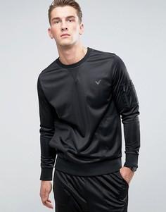 Свитшот с круглым вырезом Voi Jeans Profile - Черный