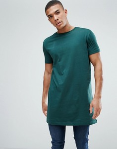Длинная футболка ASOS - Зеленый
