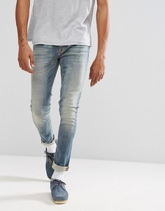 Джинсы скинни Nudie Jeans Co Lin Shimmering Fall - Синий
