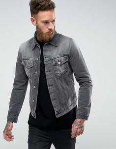 Джинсовая куртка Nudie Jeans Co Billy - Серый