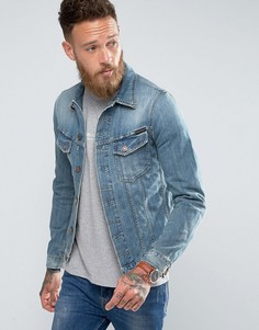 Светлая джинсовая куртка Nudie Jeans Co - Синий