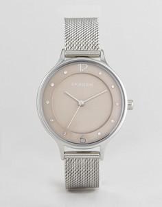 Розовые часы Skagen SKW2649 Anita - Розовый