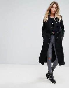 Пальто Religion Solitaire - Черный