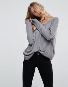 Свободная футболка ASOS - Серый