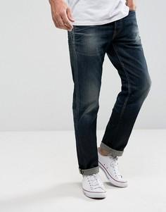 Суженные джинсы из итальянского денима Jack & Jones Intelligence - Синий