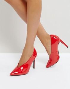 Туфли на высоком каблуке ASOS PRIORITY - Красный