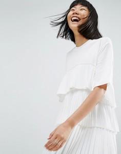 Платье мини ASOS WHITE - Белый