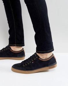 Темно-синие замшевые кроссовки Tommy Hilfiger Harrington - Темно-синий