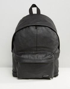 Рюкзак из искусственной кожи Jack & Jones - Черный