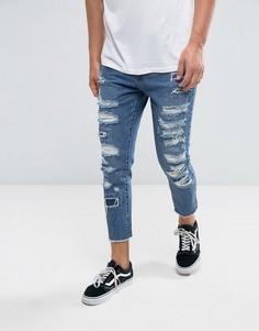 Рваные джинсы скинни Cayler & Sons - Синий