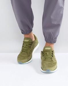 Зеленые кроссовки Saucony Freedom S40001-3 - Зеленый