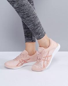 Бледно-розовые кроссовки Asics Running Fuze X Rush - Розовый
