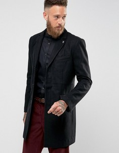 Однотонное пальто Farah Askern - Черный