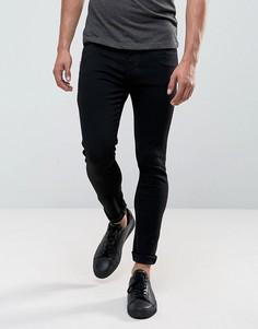 Супероблегающие черные джинсы Dr Denim Leroy - Черный
