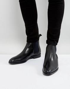 Черные кожаные ботинки челси PS by Paul Smith Gerald - Черный