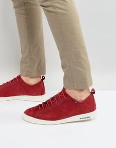 Красные кроссовки из нубука PS by Paul Smith Miyata - Красный