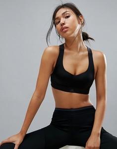 Спортивный бюстгальтер adidas - Черный